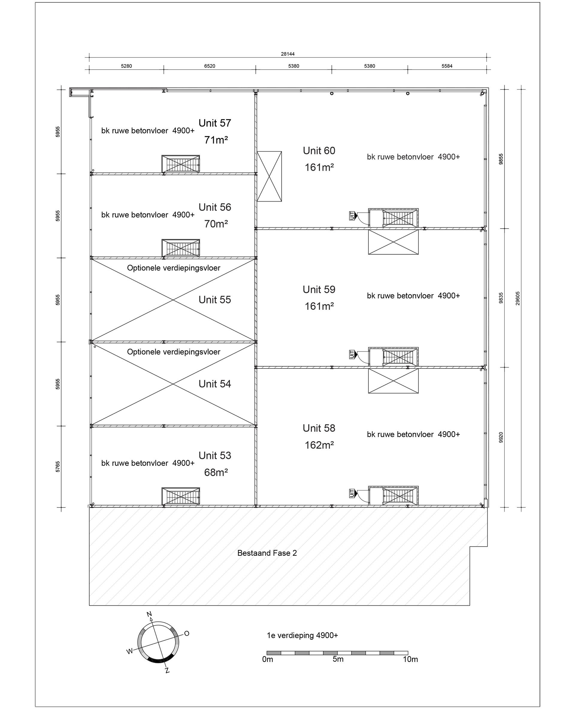 1e verdiepingen metingen